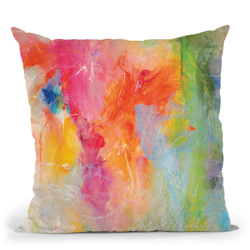 Hope Floats Throw Pillow By Kathleen Reits