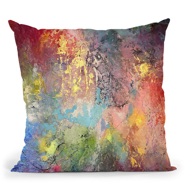 Leap Of Faith Throw Pillow By Kathleen Reits