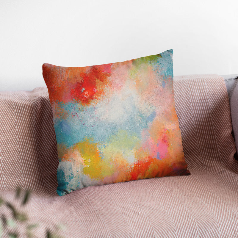 Lighthearted Throw Pillow By Kathleen Reits