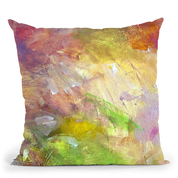 My Voice Throw Pillow By Kathleen Reits