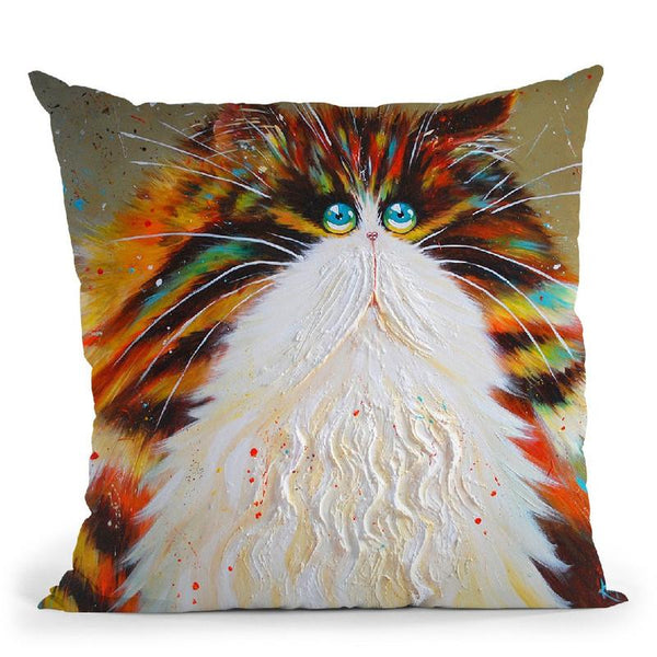 Agnes Throw Pillow By Kim Haskins