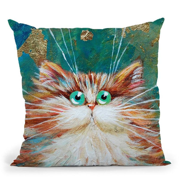 Athena Throw Pillow By Kim Haskins