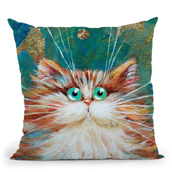 Athena Throw Pillow By Kim Huskins