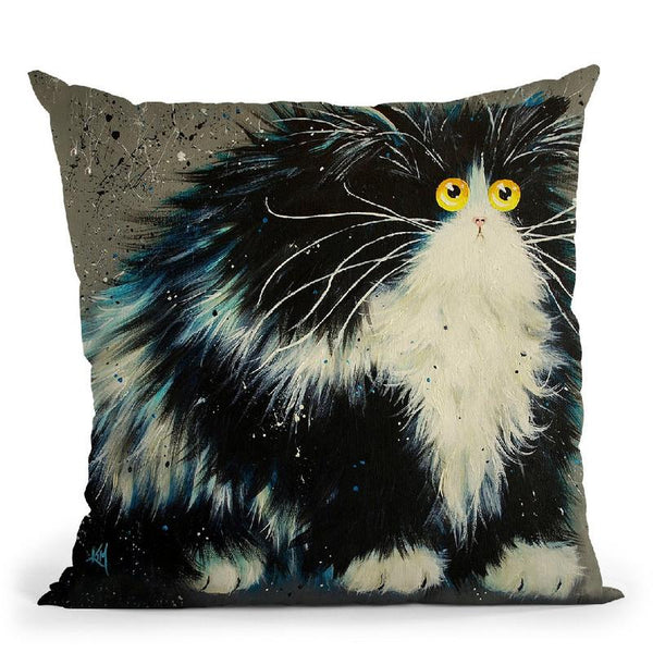 Bernard Throw Pillow By Kim Haskins