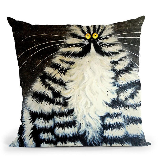 Bert Throw Pillow By Kim Haskins