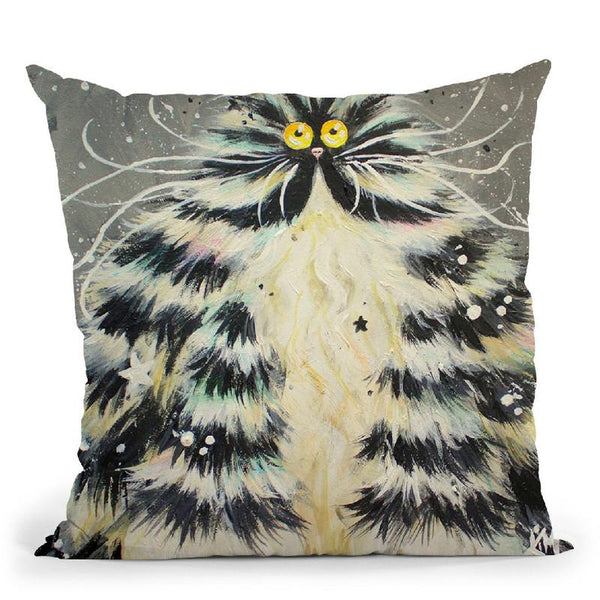 Bertha Throw Pillow By Kim Haskins