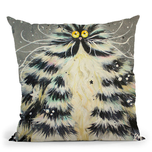 Bertha Throw Pillow By Kim Huskins