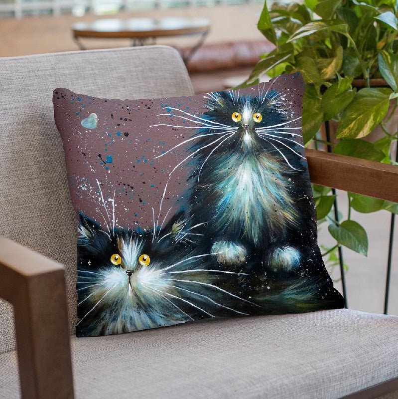 Bess And Boots Throw Pillow By Kim Huskins