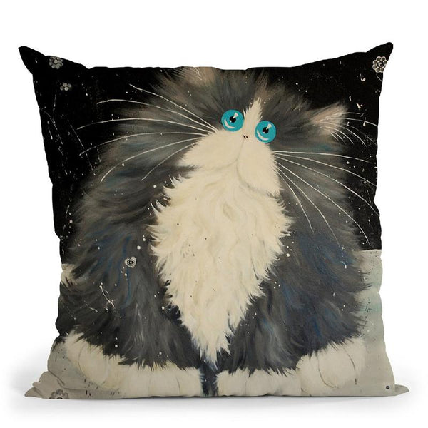 Big Blod Throw Pillow By Kim Haskins