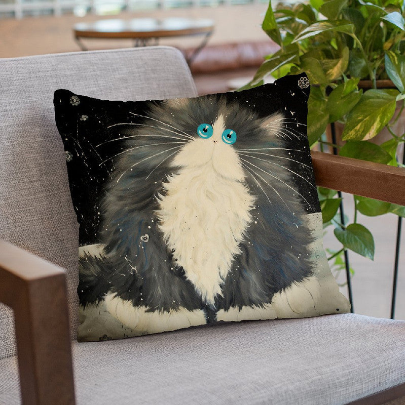 Big Blod Throw Pillow By Kim Huskins