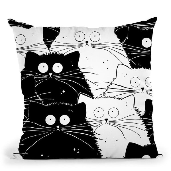 Big Flash Mog Throw Pillow By Kim Haskins