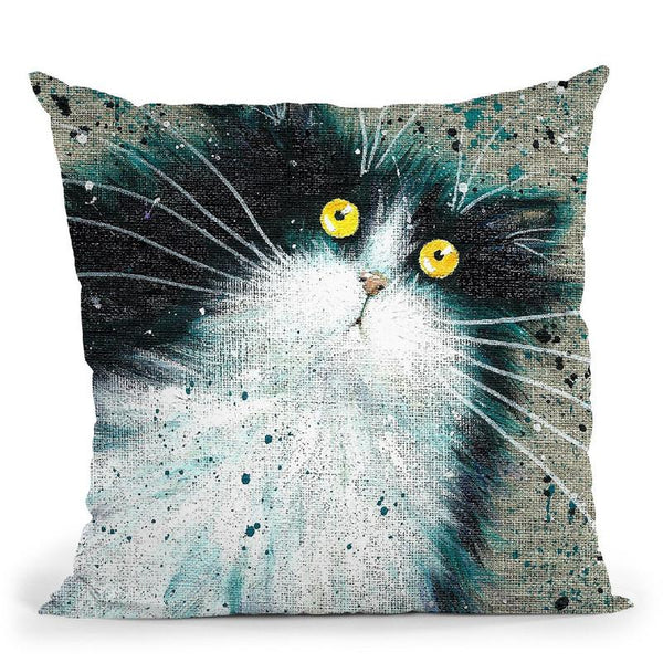 Blackjack Throw Pillow By Kim Haskins