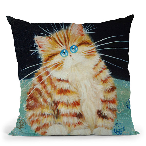 Blodwyn Throw Pillow By Kim Huskins
