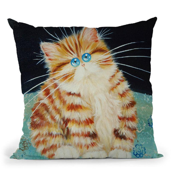 Blodwyn Throw Pillow By Kim Haskins