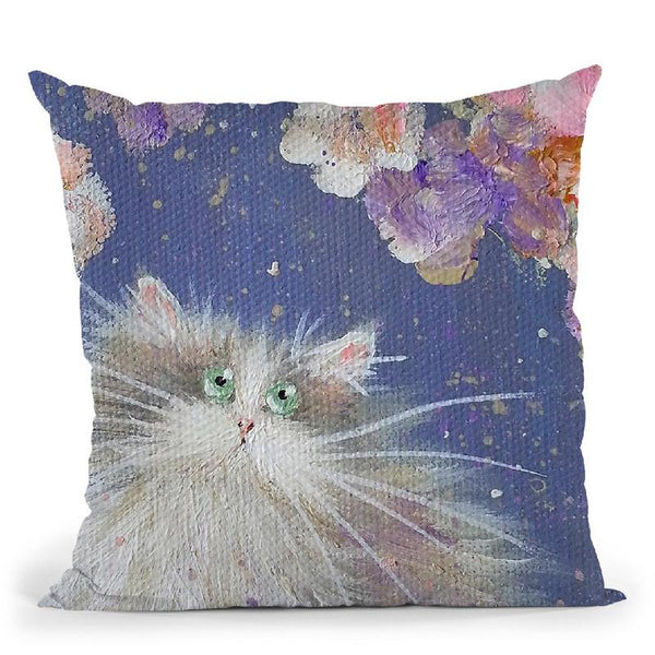 Blossom Throw Pillow By Kim Haskins
