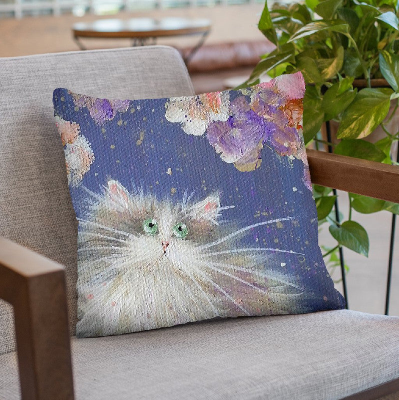 Blossom Throw Pillow By Kim Huskins
