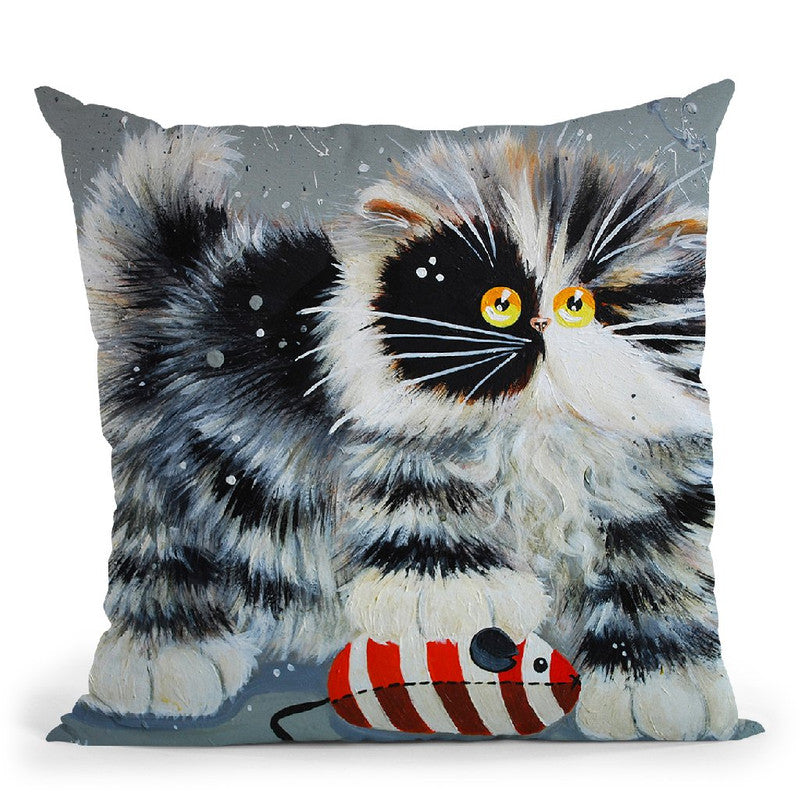 Butch Throw Pillow By Kim Huskins
