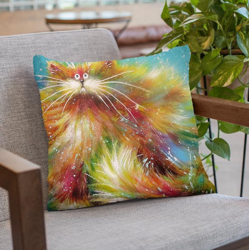 Calypso Throw Pillow By Kim Haskins