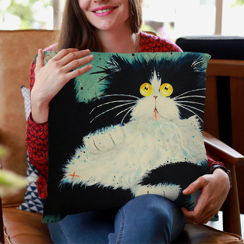 Can I Help You Throw Pillow By Kim Huskins