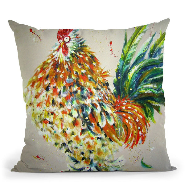 Elvis Throw Pillow By Kim Huskins