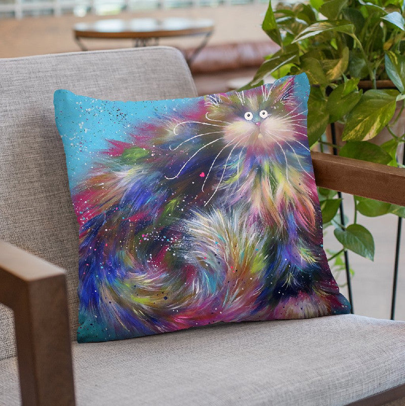 Fandango Throw Pillow By Kim Huskins