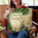 Garden Explorer Throw Pillow By Kim Huskins