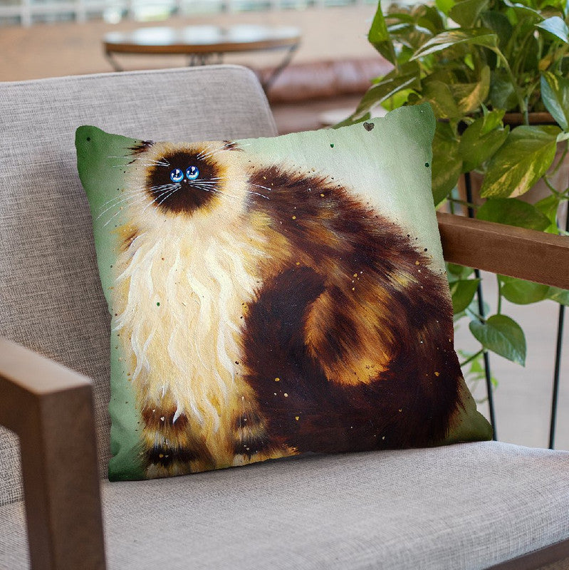 Golem Throw Pillow By Kim Huskins
