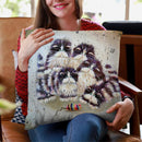 Mouse Throw Pillow By Kim Haskins