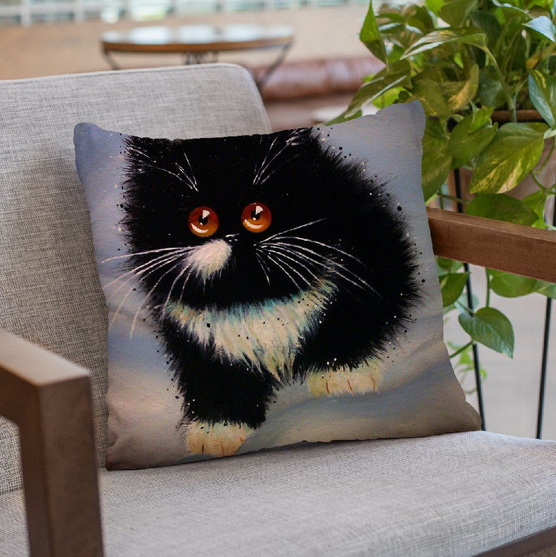 Mr Mole (Aka Moley) Throw Pillow By Kim Huskins