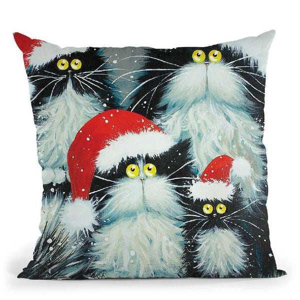 Perfect Christmas Throw Pillow By Kim Haskins