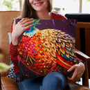 Pheasant Throw Pillow By Kim Huskins
