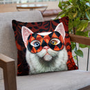 Enigma Throw Pillow By Lucia Heffernan
