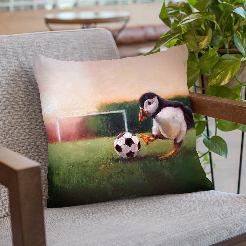 Sidekick Throw Pillow By Lucia Heffernan