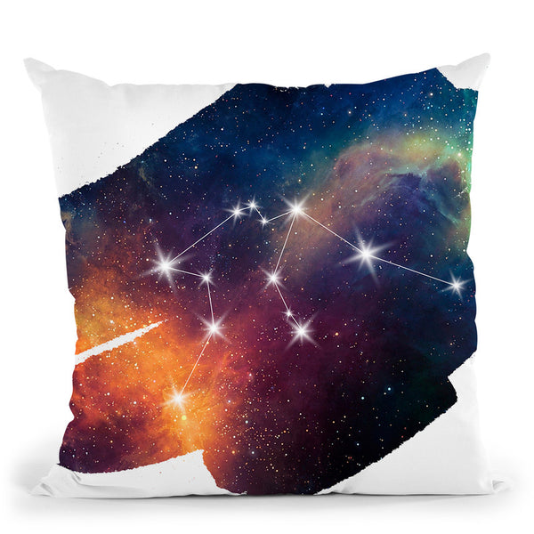 Aquarius Throw Pillow By Little Pitti