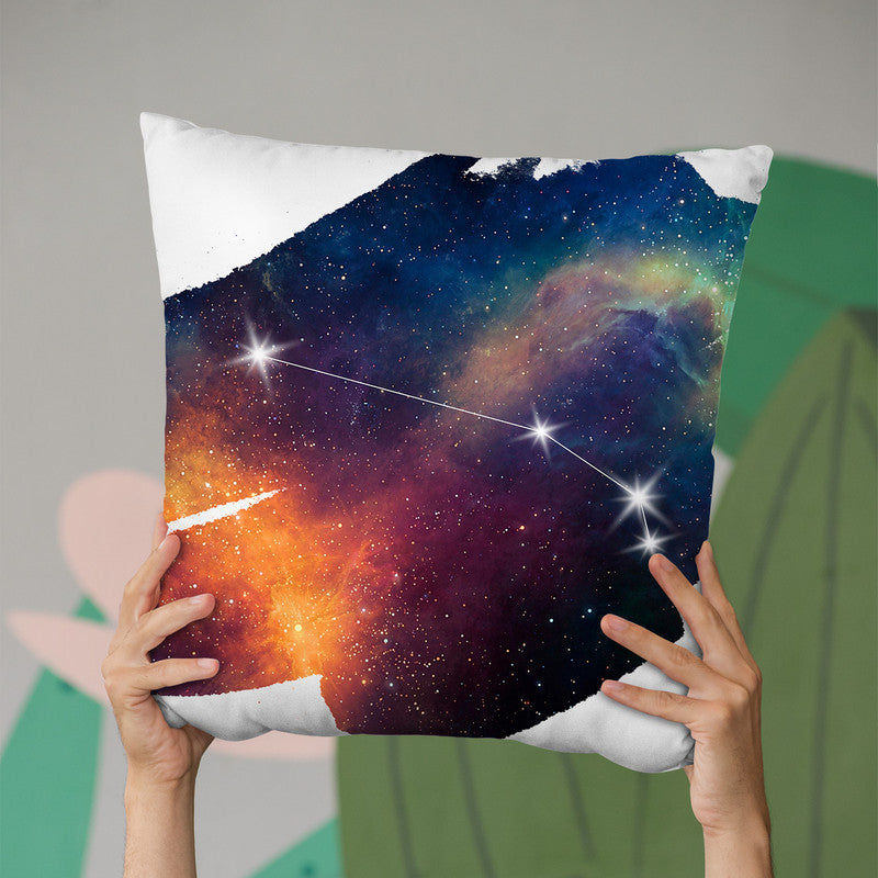 Aries Throw Pillow By Little Pitti