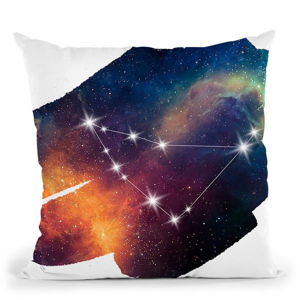 Capricorn Throw Pillow By Little Pitti