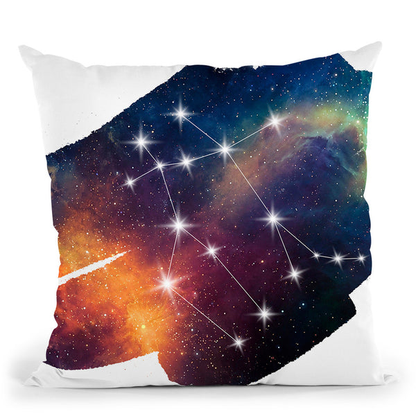 Gemini Throw Pillow By Little Pitti