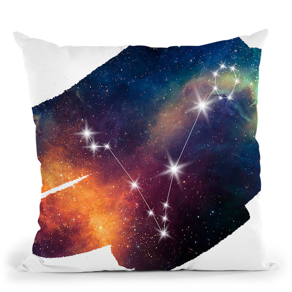 Pisces Throw Pillow By Little Pitti