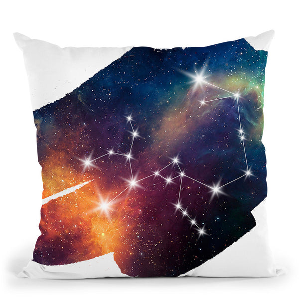 Sagittarius Throw Pillow By Little Pitti