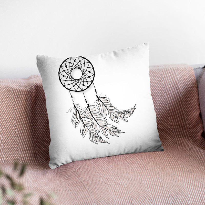 Dreamcatcher Throw Pillow By Little Pitti