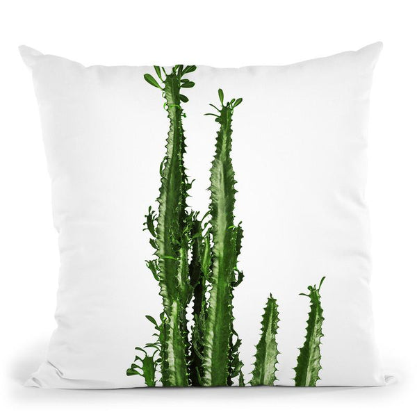 Plants10 Throw Pillow By Little Pitti