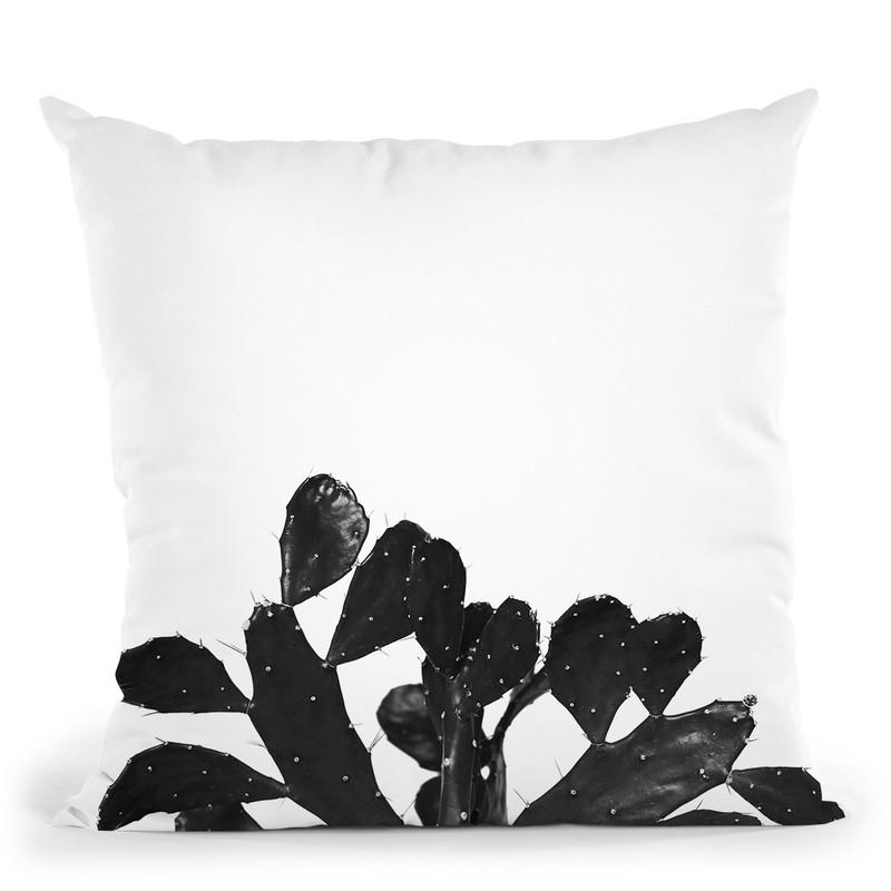 Plants15 Throw Pillow By Little Pitti