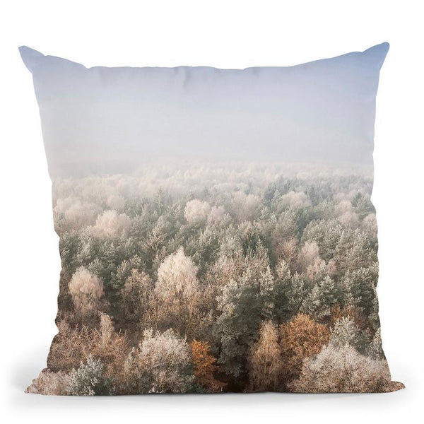 Forest2 Throw Pillow By Little Pitti