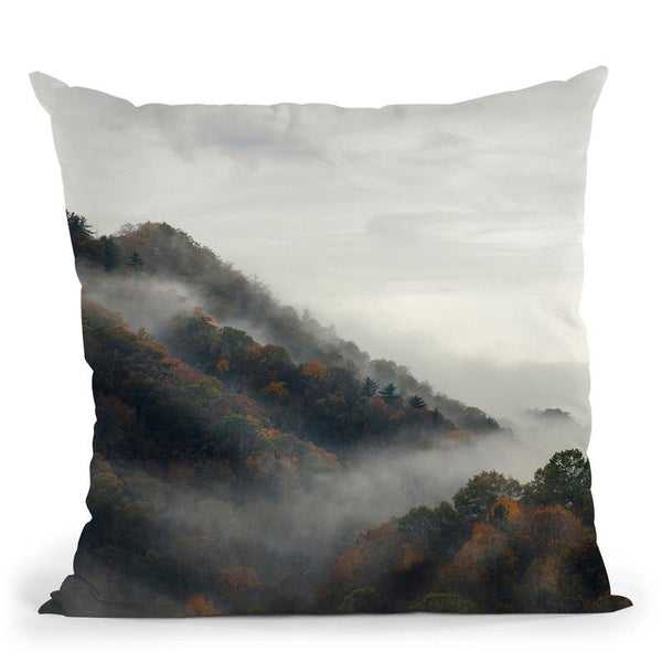 Forest3 Throw Pillow By Little Pitti