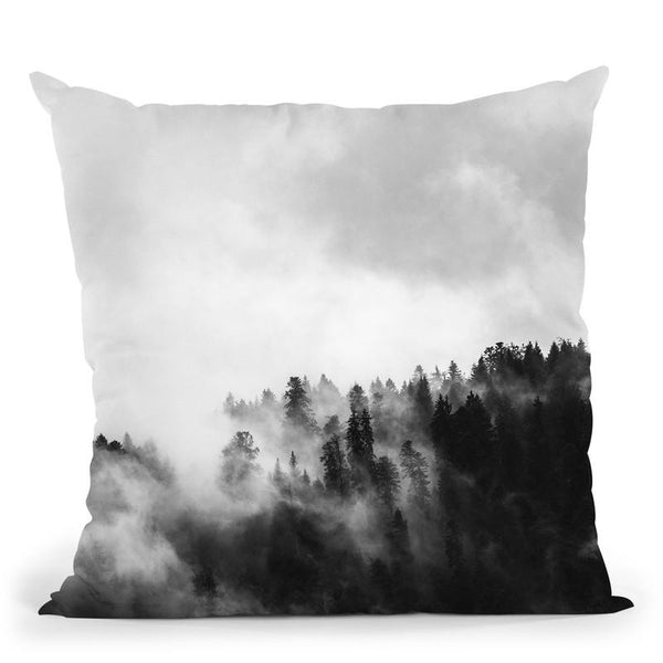 Forest4 Throw Pillow By Little Pitti