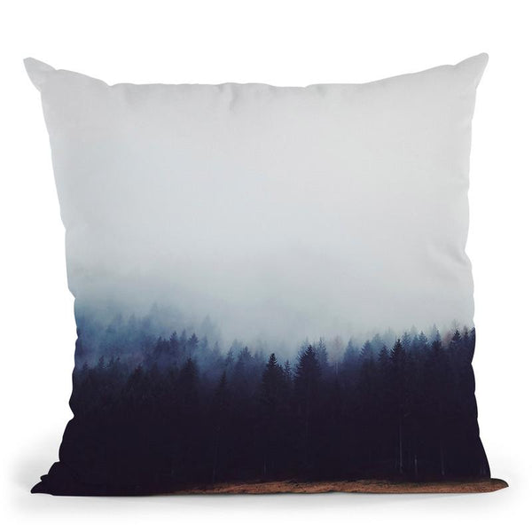 Forest5 Throw Pillow By Little Pitti