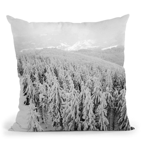 Forest6 Throw Pillow By Little Pitti