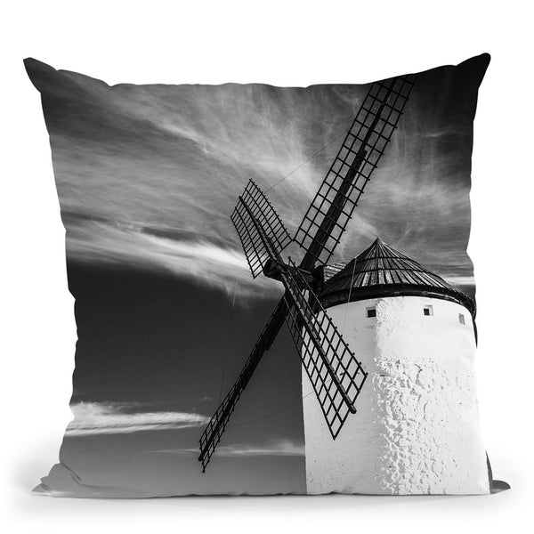 Mill Throw Pillow By Little Pitti