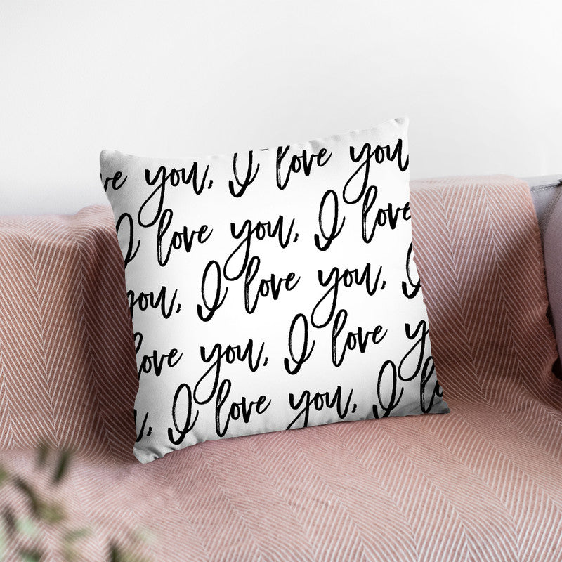 Ily Throw Pillow By Little Pitti