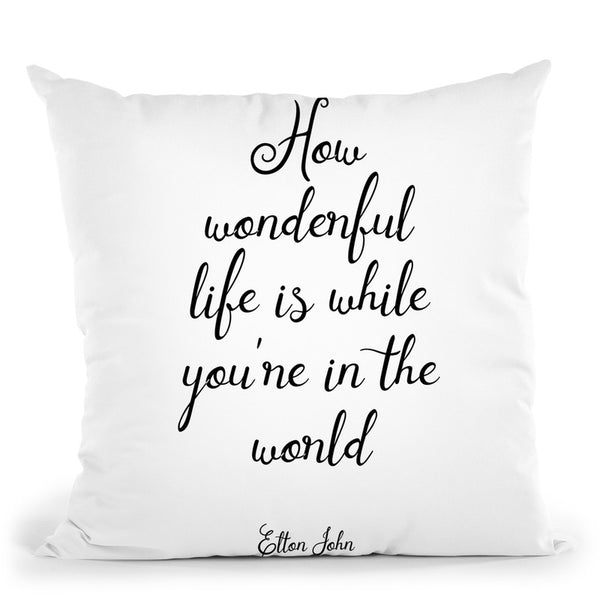 John Throw Pillow By Little Pitti